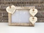 Shabby personalised Chic Photo Frame Special Best Friend Friendship Any Name - 253965278895